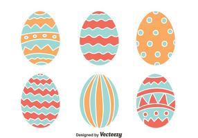 Vector Easter Eggs Colecção