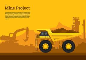 Big Tombereau Vector gratuit
