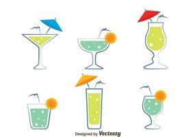 Glas Spritz-vectoren