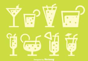 Spritz Drink silhuett vektorer