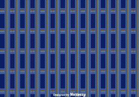 Dark Blue Flanel Pattern Vector