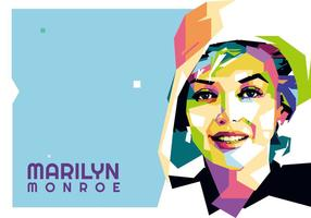 Marilyn Monroe Vektor WPAP