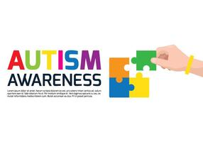 Autism Awareness Poster vector