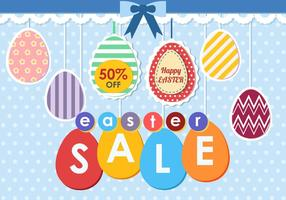 Easter Egg Sale Tag