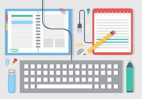 Free Design Plano Elementos e ícones do vetor