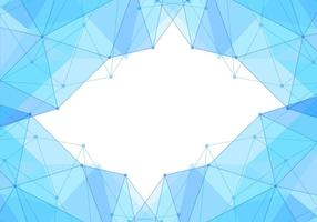Free Vector Blue Polygon Background