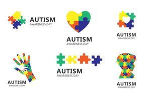 Autism Day Icon vector