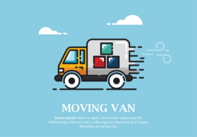 Moving Van Vector Illustration