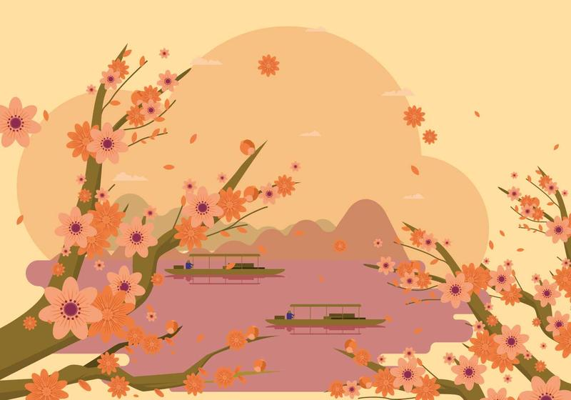 free elegant spring peach flower background download free vectors clipart graphics vector art free elegant spring peach flower