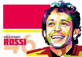 Valentino Rossi vetor WPAP
