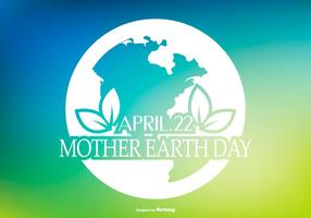 Beautiful Earth Day Illustration