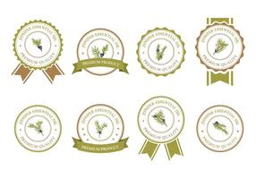 Juniper badges vector