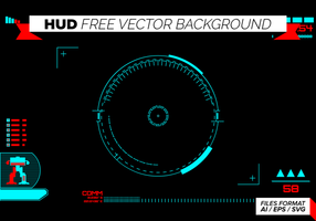 Hud-free-vector-background