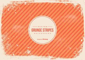 Orange Grunge Stripes Background