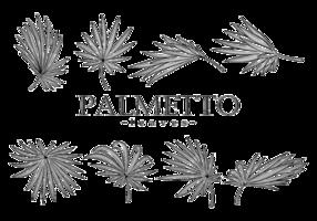 Palmetto Hojas Vector