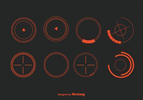 Vecteur cercles hud