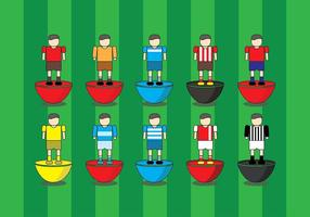 Subbuteo Game Cartoon Icon