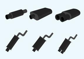 Muffler Vector Pack
