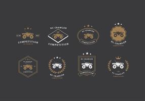 RC Crawler Competiton Logo Vector gratuit
