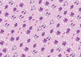Iris Flowers Pattern Vector
