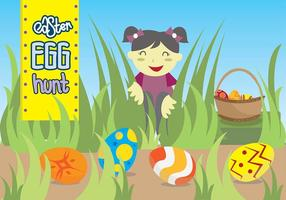 Easter egg hunt free vector art 1894 free downloads easter egg hunt kids playground maxwellsz