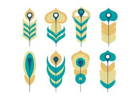Plume Collection Vector