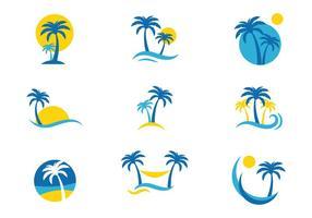 Logo Logo Palmetto vecteur