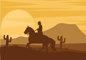 Gaucho Silhouette Free Vector