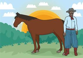 Gaucho vector illustration