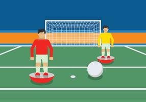Subbuteo spel illustration