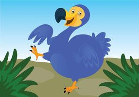 Dodo Bird Vector Background