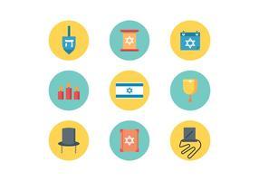 Judaïsme plat icônes