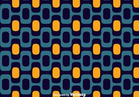 Blue And Orange Copacabana Seamless Pattern Vector