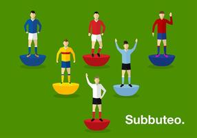 Subbuteo Person Gratis Vector