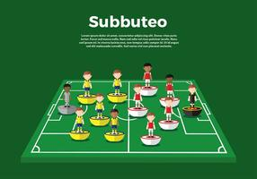 Subbuteo Gameplay Free Vector