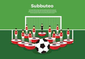 Subbuteo Set Free Vector