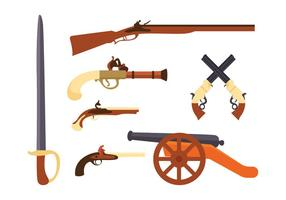 Colonian Weapon Vector Pack