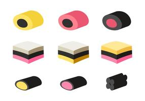 Licorice Vector Set