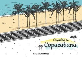 Background Copacabana Vector