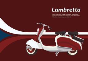 Lambretta Scooter Vector grátis