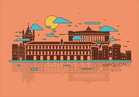 Vector Napoli Ciudad