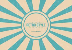 Fundo do estilo Sunburst retro