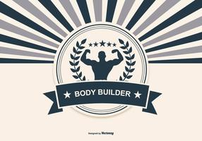Retro Body Building Ilustración