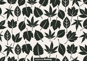 Vector Seamless Pattern Of Leaves