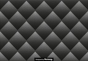 Halftone Seamless Pattern Vector Illustration