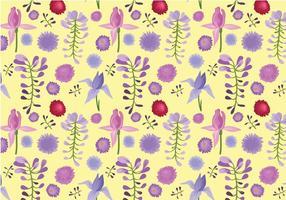 Gratis Garden Pattern Vectors