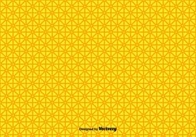 Vector Yellow Geometric Shapes Pattern