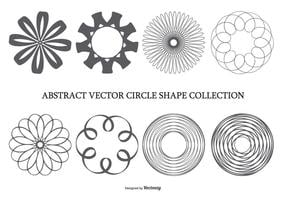 Abstracte Circle Shape Collection