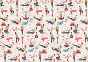 Physiotherapist Pattern Vector