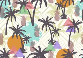 Palmetto Seamless Pattern